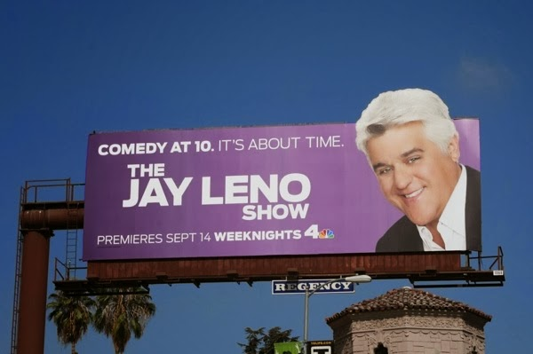 The Jay Leno Show billboard Sep 2009