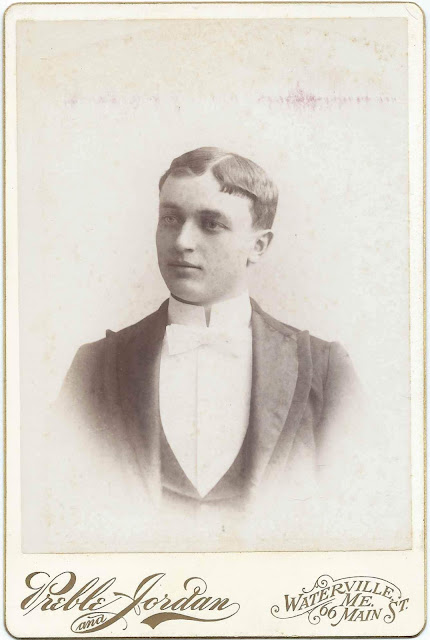 Photograph of Harry Weldon Osgood of Pittsfield, Ellsworth, and Bangor, Maine; 1894 Graduate of Colby College at Waterville, Maine; 1898 Boston University School of Medicine