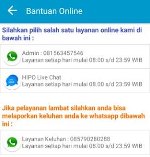 Admin Hipo(Himpunan Pengusaha Online)