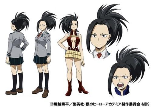 ยาโอโยโรซุ โมโมะ (Yaoyorozu Momo) @ My Hero Academia: Boku no Hero Academia มายฮีโร่ อคาเดเมีย