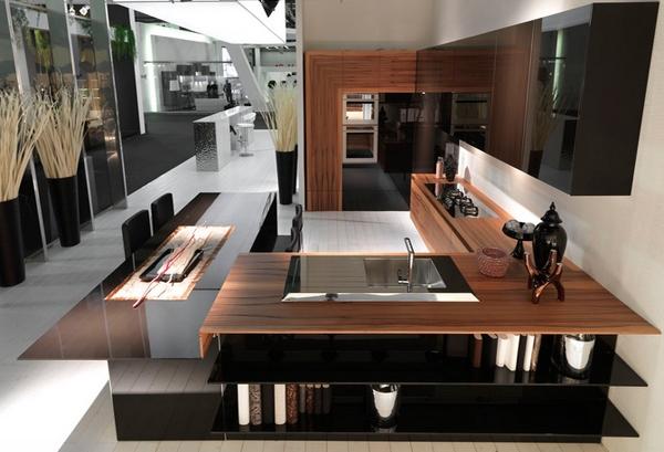 Dapur mewah mempesona