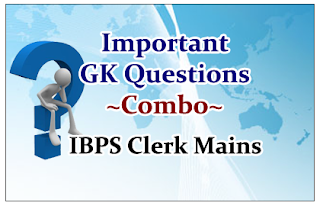"""Important General Awareness Questions """"Combo"""