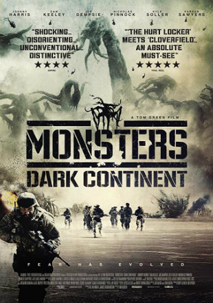 Monsters: Dark Continent 2014 BRRip 720p Dual Audio In Hindi English
