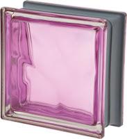 brique de verre New Colour Malva