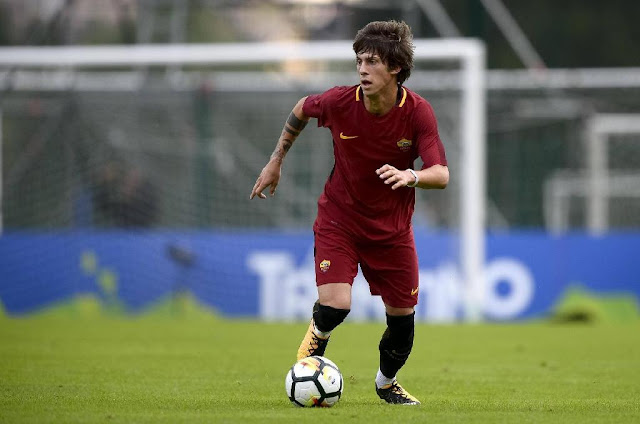 Mirko Antonucci AS Roma