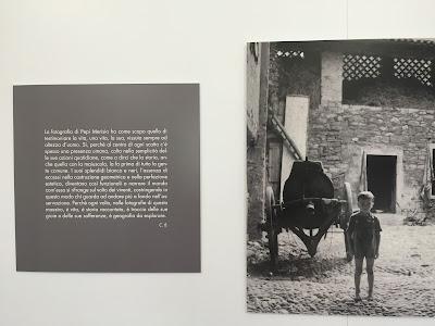 Example of exhibition of Pepi Merisio at Monastero di Astino