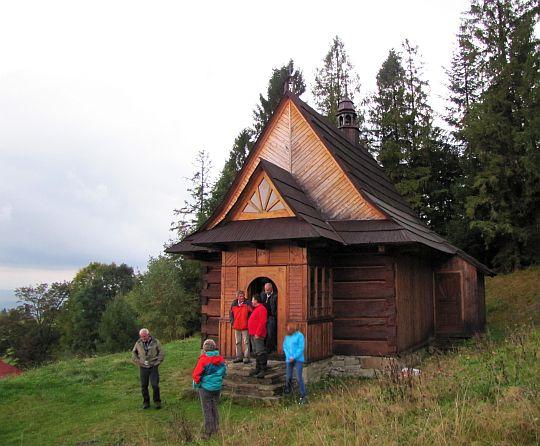 Skansen w Studzionkach - kaplica.