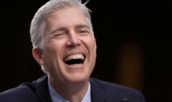 Little Scalia: Watching Neil Gorsuch, a mild-mannered good boy from Denver, become the second-most-polarizing man in Washington