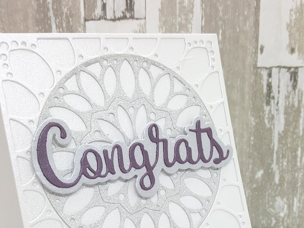 Silver Congrats Card - Part One