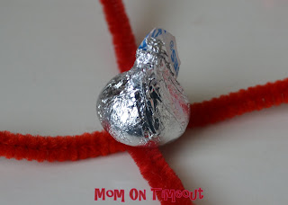 Bring On The Bling Valentine Ring Made With Hershey S Kisses