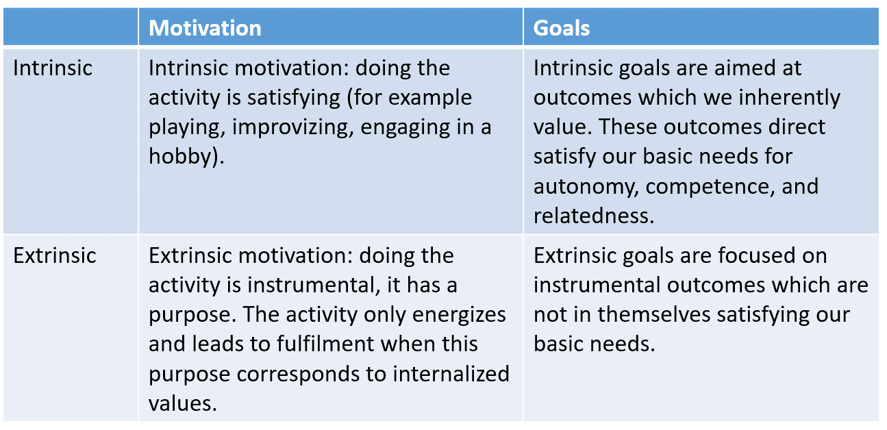 intrinsic and extrinsic motivation essay Research papers on extrinsic motivation discuss the theory that involves the engaging of a behavior or activity for some reward.