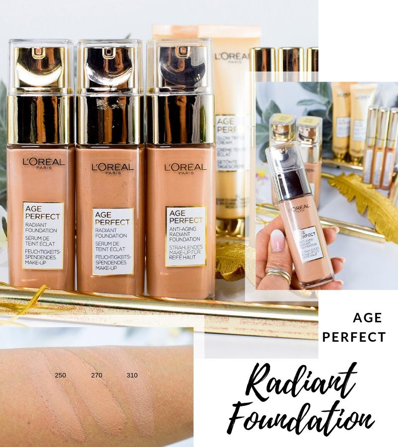Übersicht und Test der L'Oréal Age Perfect Foundation