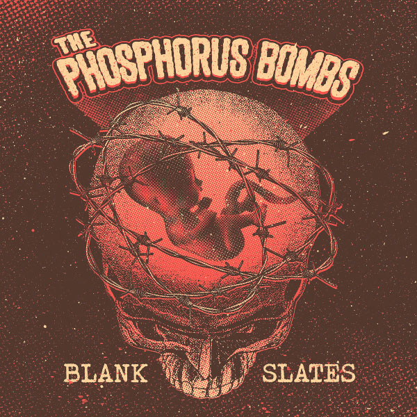 "The Phosphorus Bombs stream new EP ""Blank Slates"""
