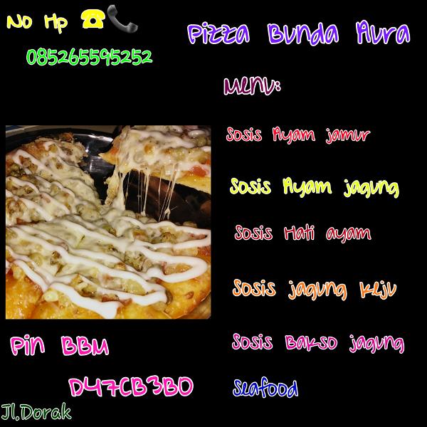 Lezatnya Pizza Bunda Aura, Oleh Oleh Kuliner Selatpanjang