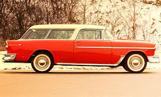 1955 Chevrolet Nomad Wagon Side Right