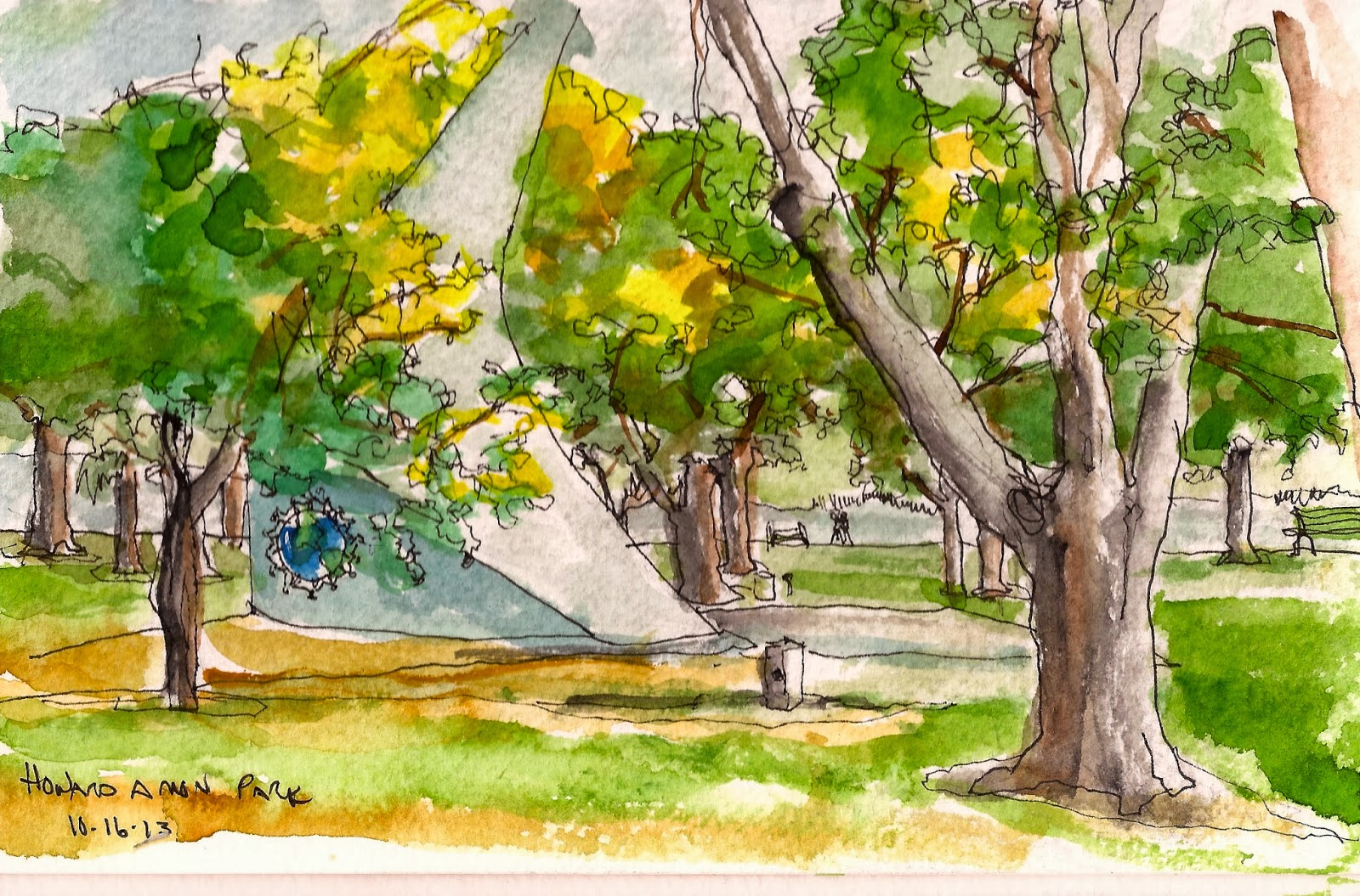 Urban Sketchers Tri Cities Washington October 2013