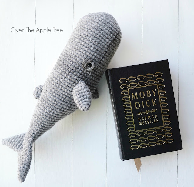 Crochet Whale by Over The Apple Tree