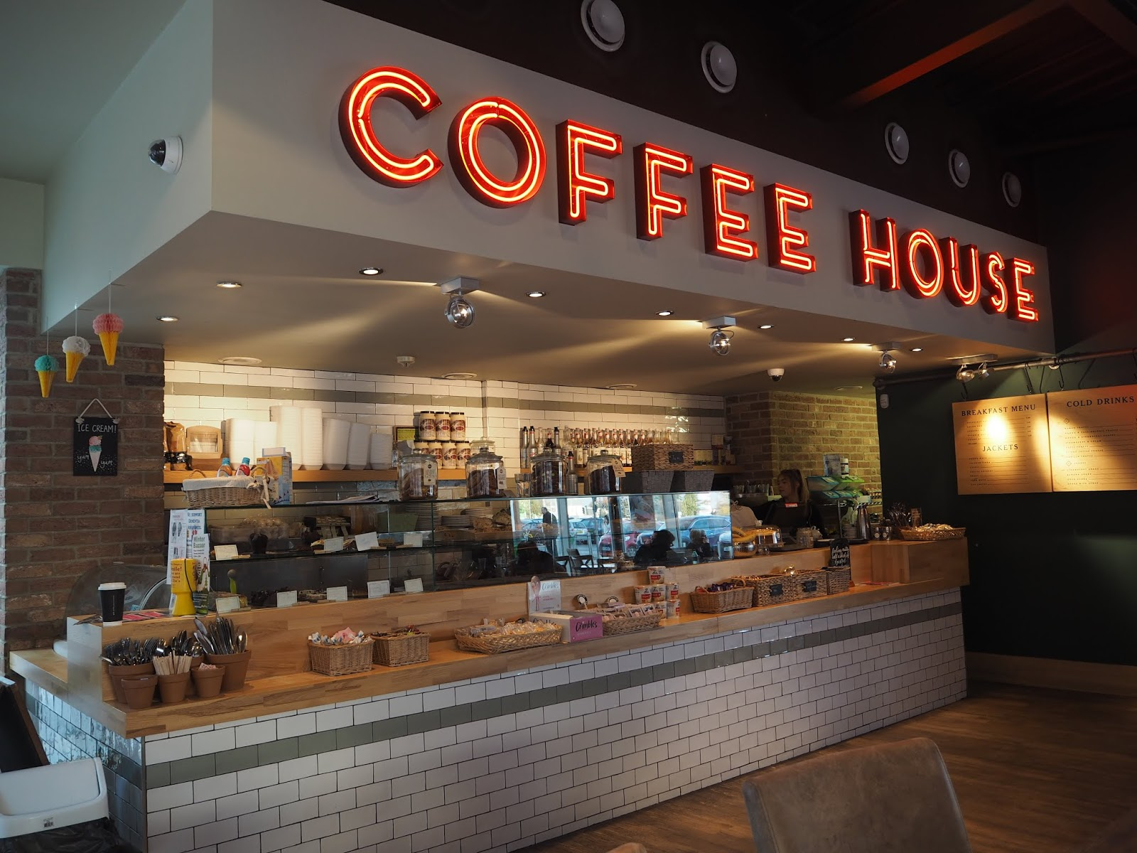 brewhouse cafe coffee pavillion shopping centre thornaby middlesbrough