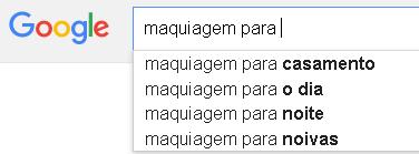 Sugestão do Google