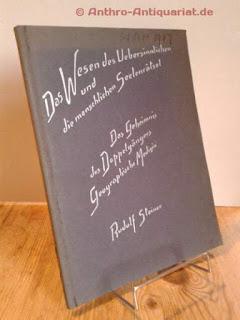 Steiner, Rudolf: Das Geheinmis des Doppelgängers. Geographische Medizin.