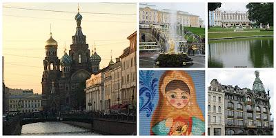 saint petersburg collage