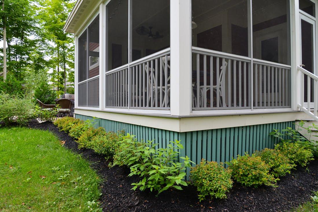 prince edward county landscaping, cottage landscaping, country garden, four seasons landscaping pec