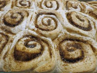 maple glaze cinnamon rolls