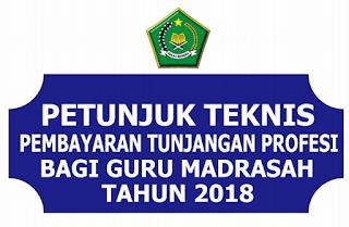 Juknis Penyaluran TPG Bagi Guru Madrasah   JUKNIS PENYALURAN TPG GURU MADRASAH TAHUN 2018 (KEMENAG)
