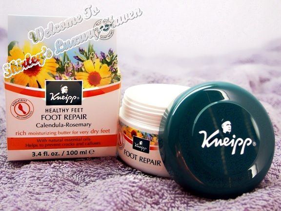 kneipp happy feet foot repair review