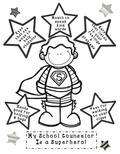 The Creative Counselor: My School Counselor is a Superhero!
