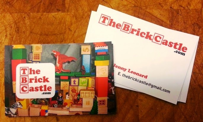 The Brick Castle Business Cards from StressFreePrint