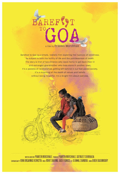 Poster Of Barefoot To Goa 2015 480p Hindi DVDRip Full Movie Download