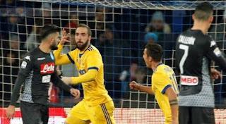 Napoli vs Juventus 0-1 Video Gol & Highlights