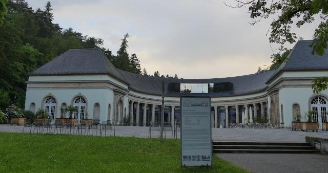 Kurpark Bad Wildungen - Kurpark-Café
