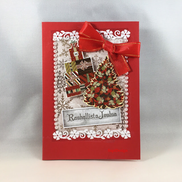 Lots of decoration J.K. Primeco toppers Christmas card SapiDesign