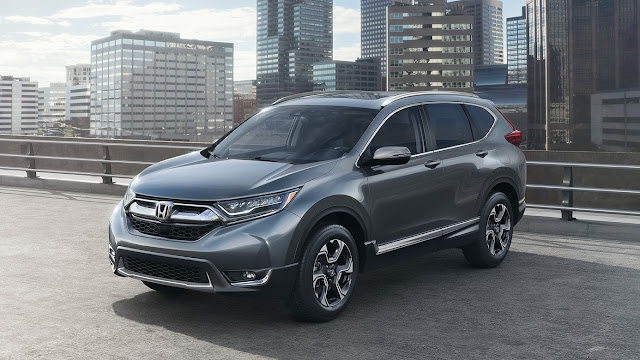 Desain Eksterior Honda CRV