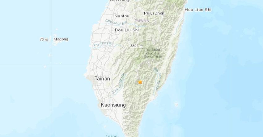 Terremoto en Taiwán - China de Magnitud 6,1 - Alerta de Tsunami (Hoy Martes 2 Abril 2019) Sismo Temblor EPICENTRO - Taitung - USGS - CENC
