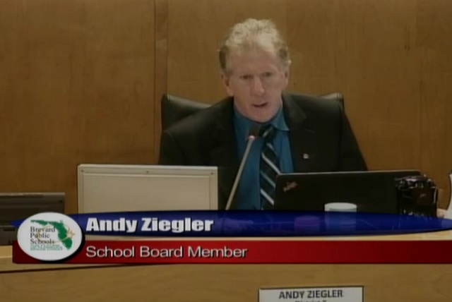 Brevard County School Board Chairman Andy Ziegler