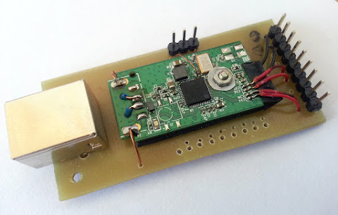 RTL2832U Universal board with pinheaders