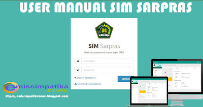 User Manual Sim Sarpras Terbaru 2017