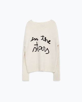 Zara Sweater With Text