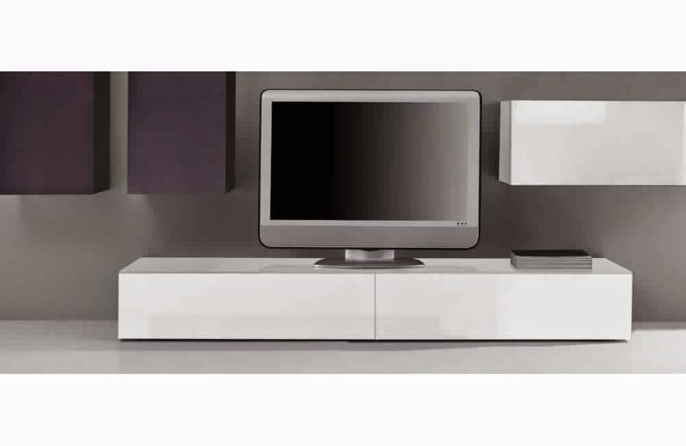 meuble tv blanc laqu meuble d coration maison. Black Bedroom Furniture Sets. Home Design Ideas