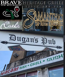 Little Rock restaurant signs - made with Collage Maker