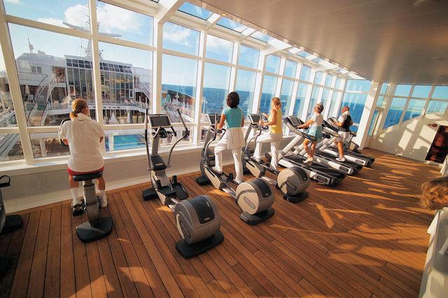 MS EUROPA Fitnessloft (C) HL Cruises