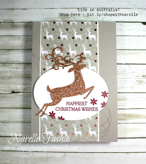Make elegant cards using the Dashing Deer bundle. See it here - http://bit.ly/DashingDeerBundle