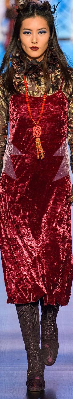 Anna Sui Fall/Winter 2017 RTW