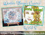 Winter Blooms Canvas