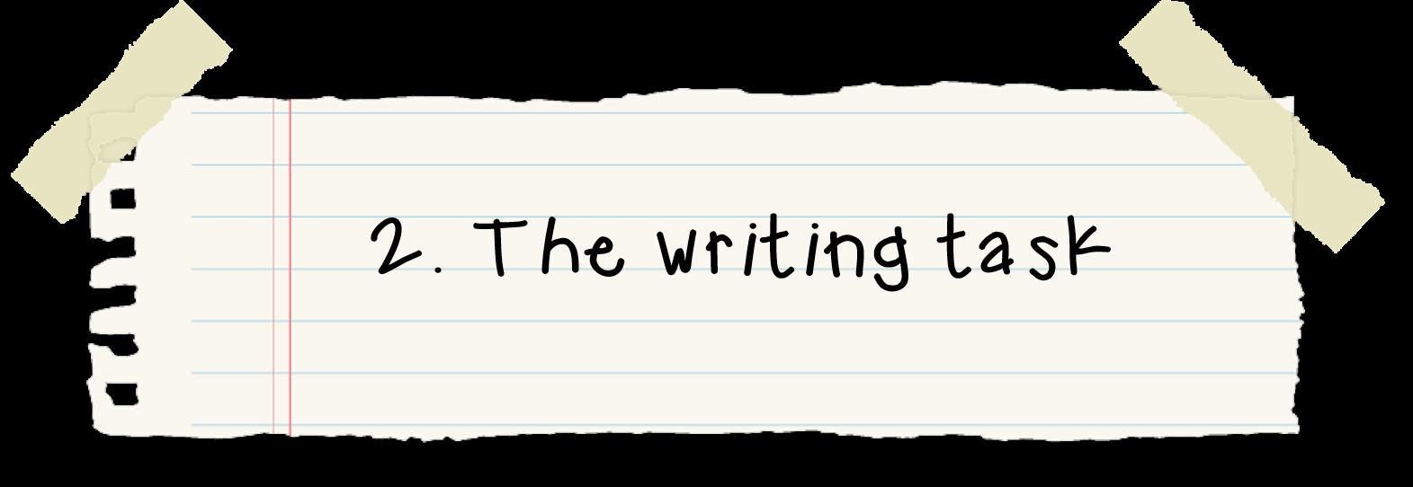persuasive writing homework task
