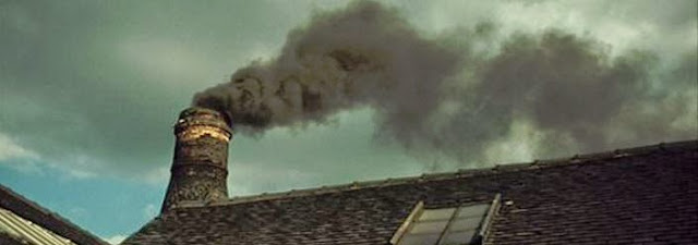 The Last time a bottle oven was fired in The Potteries  -  1978