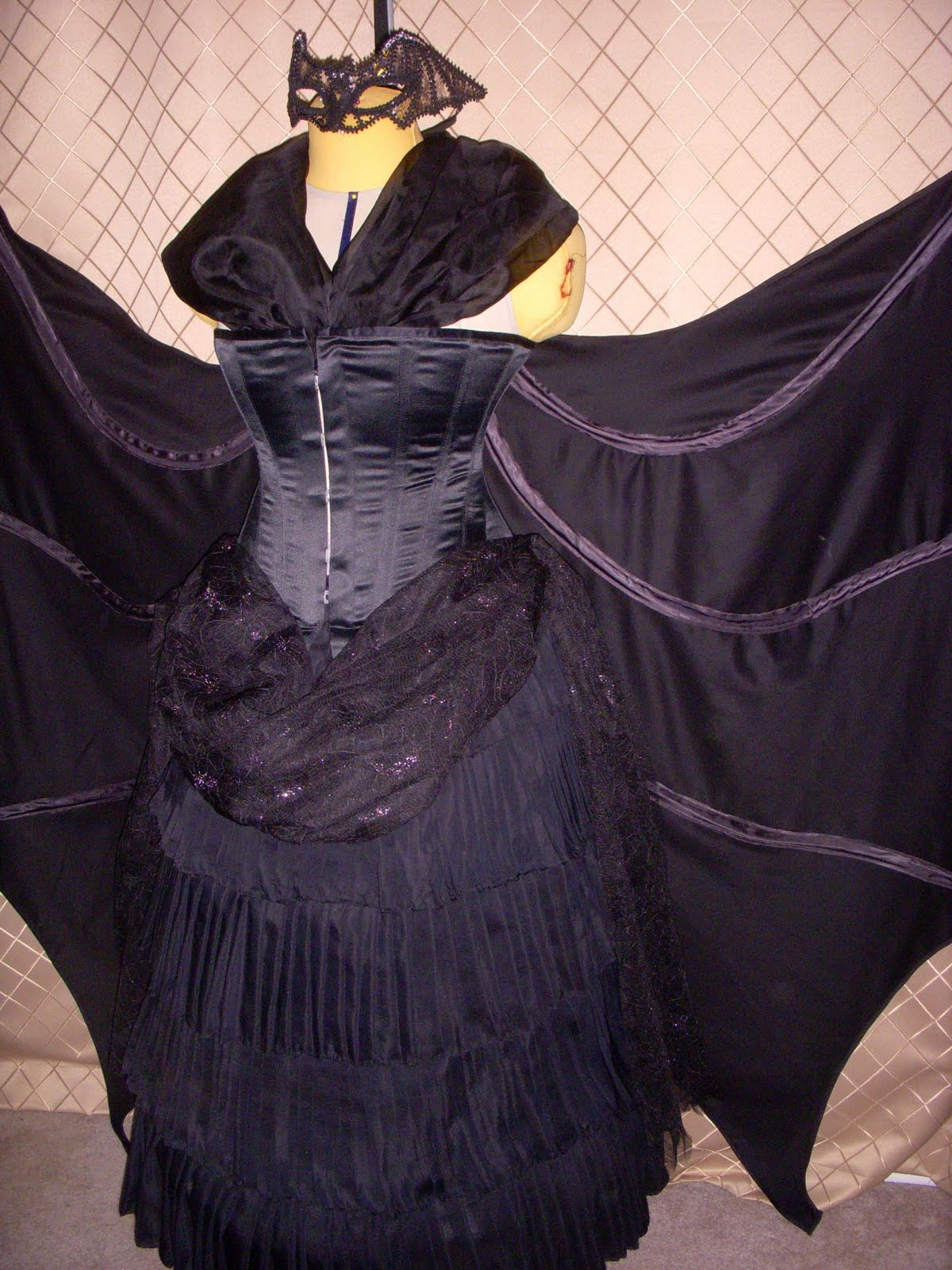 Sewing To Distraction Eva Dress 1887 French Bat Costume